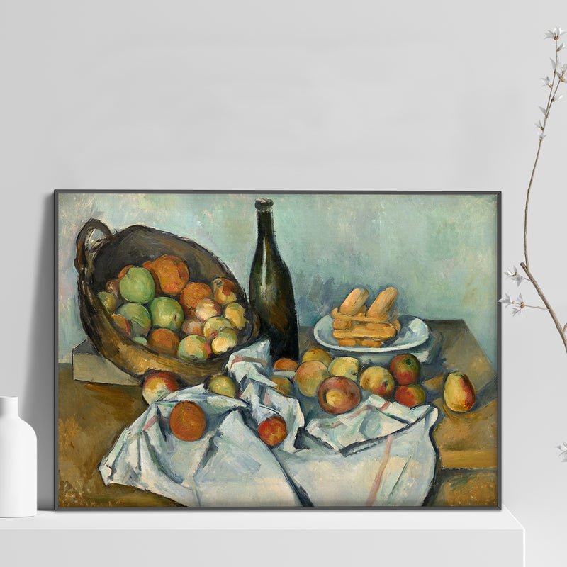 Paul Cézanne - The Basket of Apples Poster
