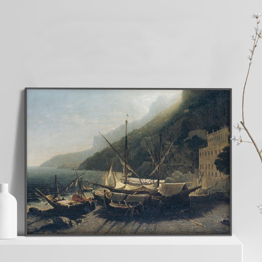 View at Amalfi, Bay of Salerno Poster