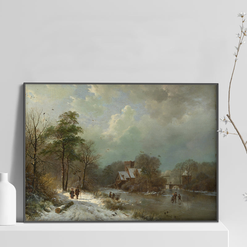 Winter Landscape, Holland Poster