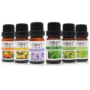 6 in 1 Essential Oil Pure & Natural Aromatherapy Diffuser Essential Oils