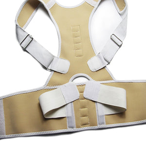 New Magnetic Posture Corrector Back Support Belt.