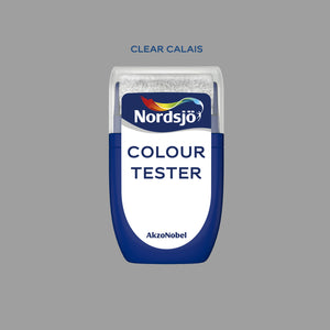 Colour Tester i fargen Clear Calais