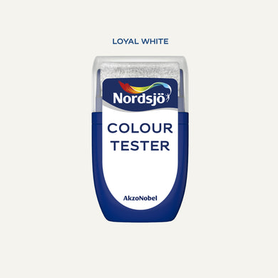 Colour Tester i fargen Loyal White