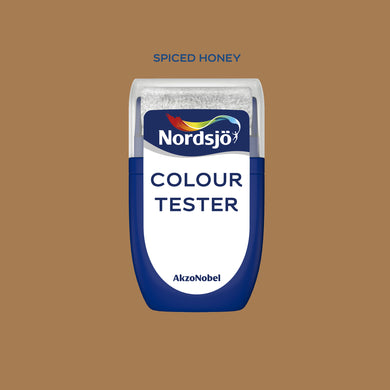 Colour Tester i fargen Spiced Honey - Colour of the Year 2019