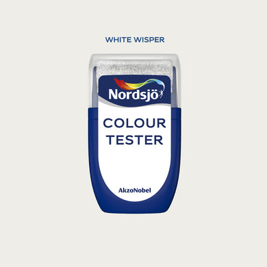 Colour Tester i fargen White Wisper