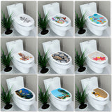 Multi-style Toilet Stickers
