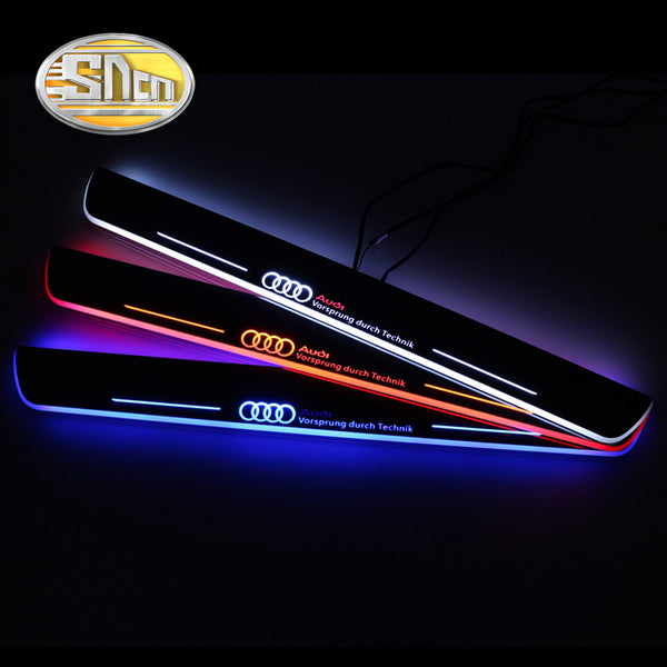 Waterproof Moving LED Welcome Pedal Door Sill