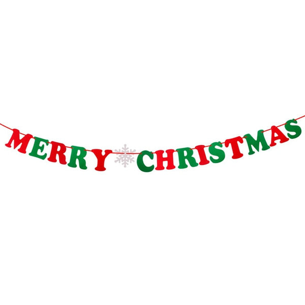 merry christmas banner reindeersocks