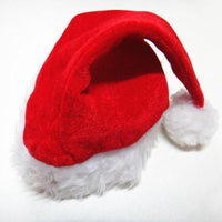 Plush Christmas Santa Claus Hat