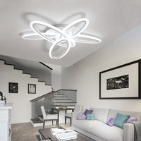 Ring Chandelier Lighting Modern LED