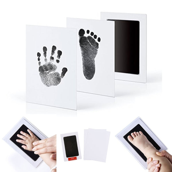 Baby Handprint/Footprint Photo Frame Kit Non-Toxic