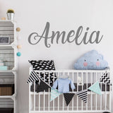 Personalized Name Wall Sticker Boys/Girls
