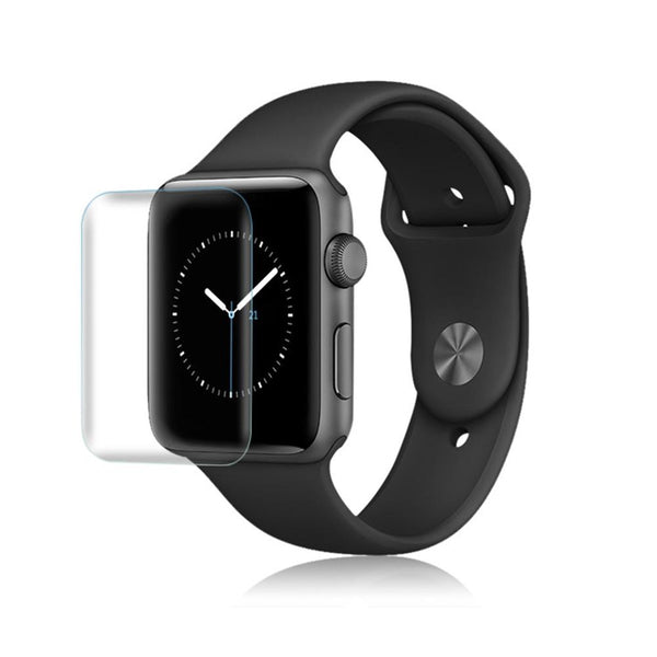3D Full Screen Scratch-Resistant iWatch For Apple Watch 1 2 3 Series