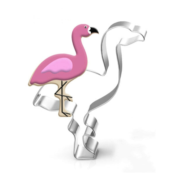 Flamingo Stainless Steel Cookie Cutter