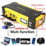 Emergency Car USB Jump Starter 16000mAh 12V