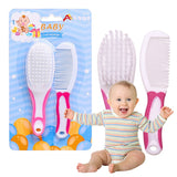 Set Portable Soft Baby Hair Brush