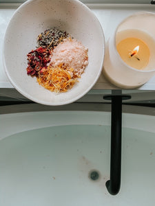 Salty Coconut Milk Soak