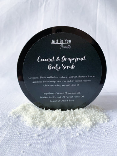 Coconut & Grapefruit Body Scrub
