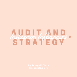 Instagram Audit and Strategy
