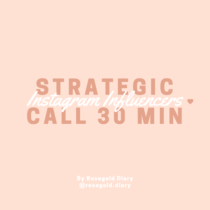 Strategic call - 30 minutes