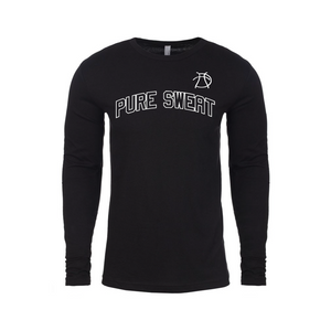 The Pure Sweat Block Lettered Long-Sleeved T-Shirt