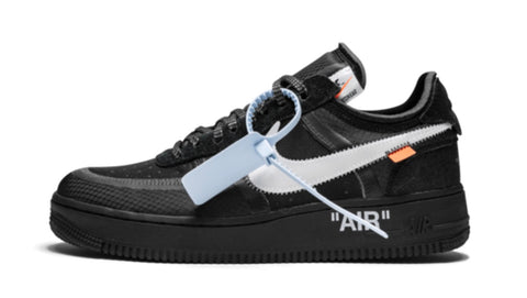 Nike Air Force 1 Low Black - Swithings