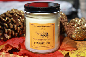 New York Candle- Pumpkin Pie Scented Candle Jar