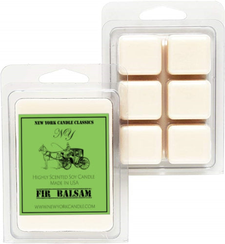 Fir balsam scented wax tarts for holidays