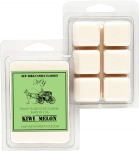 strong scented wax melts kiwi melon scented