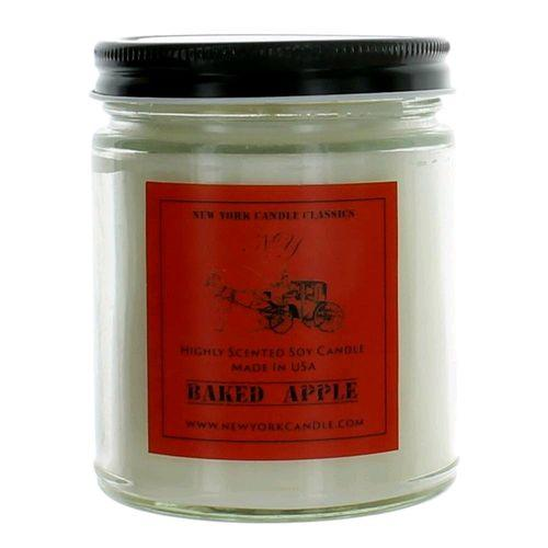 New York Candle- Baked Apple Scented Candle Jar - Fundaroma Candle