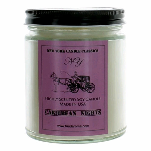 New York Candle- Tropical Scented Candle Jar
