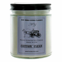 Load image into Gallery viewer, New York Candle- Cotton Clean Scented Candle Jar