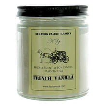 Load image into Gallery viewer, New York Candle- Vanilla Scented Candle Jar