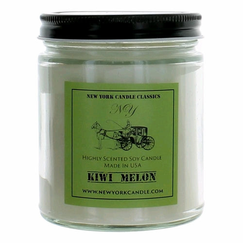 New York Candle- Kiwi Melon Scented Candle Jar - Fundaroma Candle
