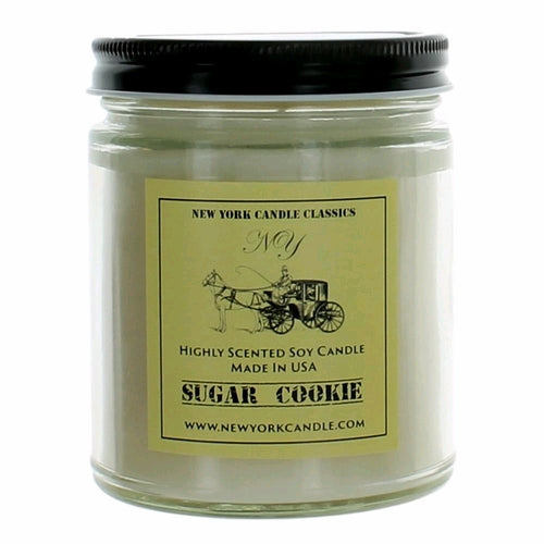 New York Candle- Sugar Cookie Scented Candle Jar - Fundaroma Candle