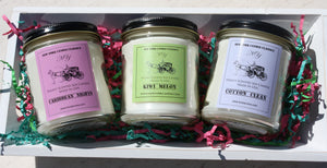 clean scents jar candle basket