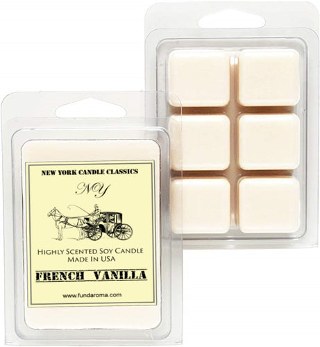 Strong scented french vanilla soy wax melts