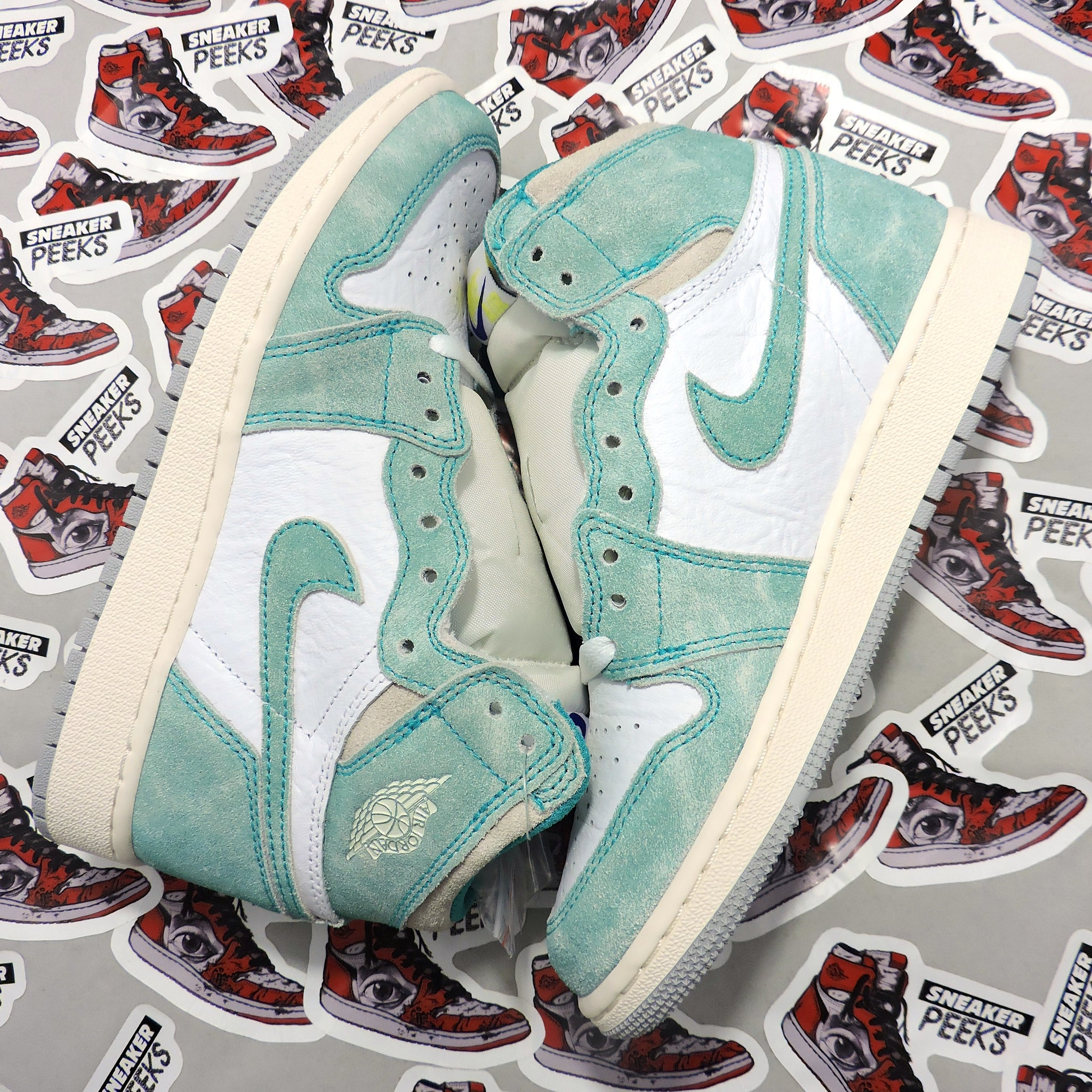 "Air Jordan 1 ""Turbo Green"" GS"