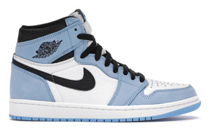 "Jordan 1 Retro High ""White University Blue Black"""