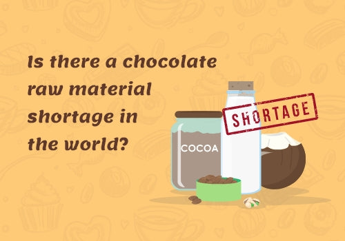 Is there a chocolate raw material shortage in the world?