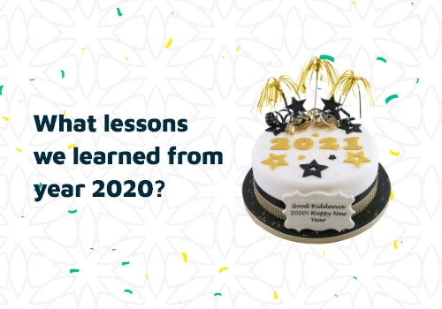 What lessons did we learn from the year 2020?