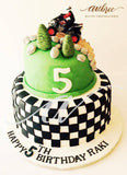 Dirt Bike Cake - Eggless