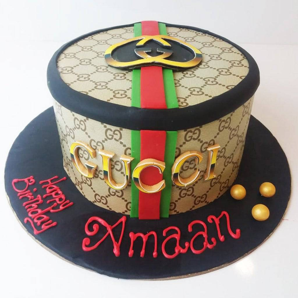 Gucci Theme Cake