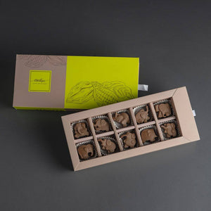 Elephant Shaped Crafted Chocolates - Kids Special