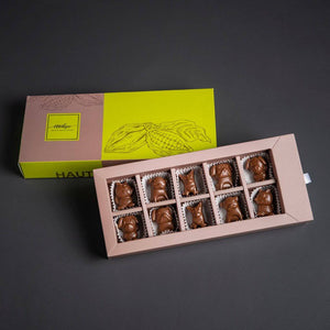Cute Puppies Shape Crafted Chocolates - Kids Special