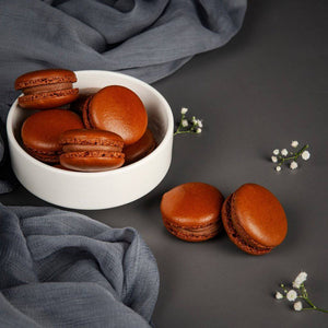Chocolate Macarons (contains egg)