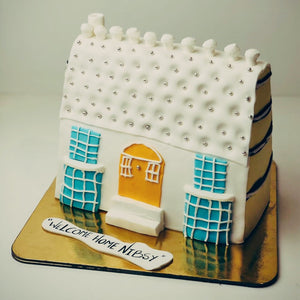 Welcome Home Theme Cake - Eggless