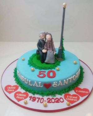 Love forever Cake - Eggless