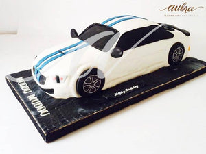 BMW Car Cake - Eggless
