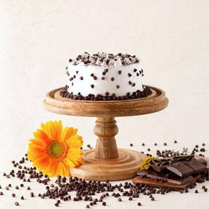 Chocolate Chip Cake - Eggless